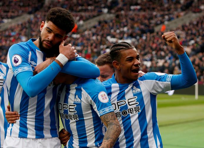 Huddersfield gaat ondanks de treffer van Bacuna in de slotfase onderuit.
