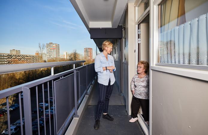 Marjet Westervoorde en Yvonne Hokke