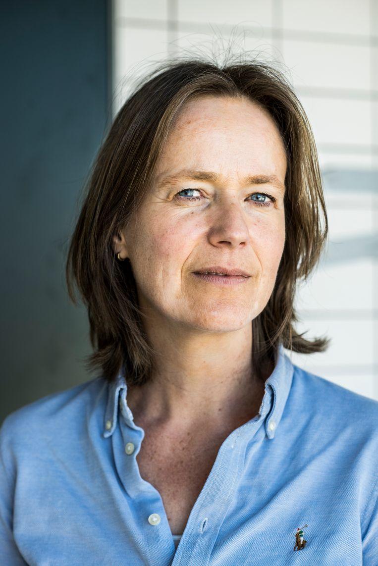 Evelyn Klein Haneveld, hoofd behandeling bij TBS kliniek Oostvaarder. Beeld Linelle Deunk