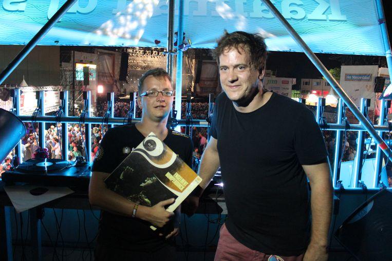 Simon Aelterman en Maarten Hillaert draaiden met hun rommelmarkplaten eerder ook al op de Lokerse Feesten en de Fonnefeesten.