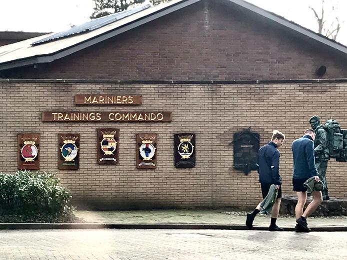 De huidige marinierskazerne in Doorn.