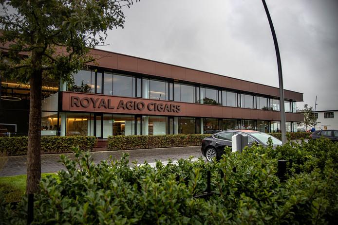 Het kantoor van Royal Agio Cigars in Duizel.