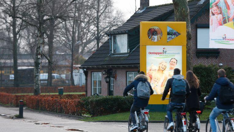 Scholieren fietsen nabij Waalwijk. Beeld Anp