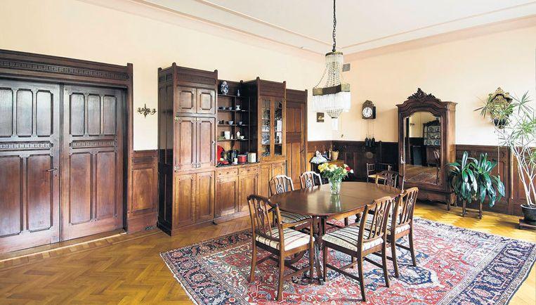Hier woonde mejuffrouw Aletta Hingst, in een interieur dat net als de rest van het huis van Berlage is. Foto Jan van Galen Beeld