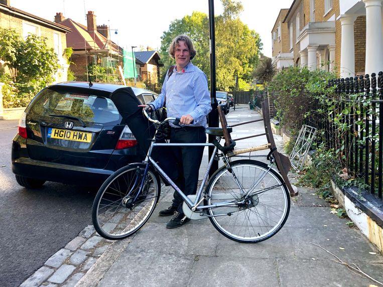Patrick van IJzendoorn in Londen. Beeld null