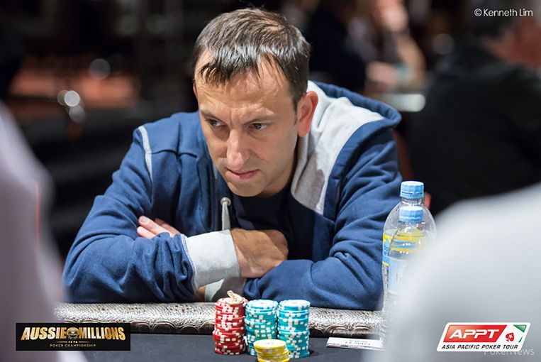 Tony Bloom aan de pokertafel.