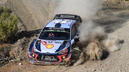 Tänak pakt zege in Rally van Turkije, WRC-leider Neuville sprokkelt nog vijf belangrijke punten