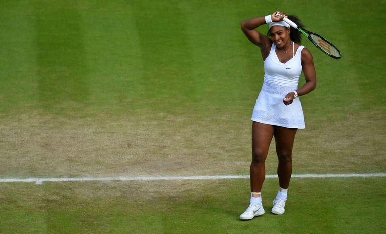 Serena Williams. Beeld AFP