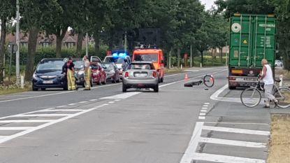 Fietser geschept door auto: Zuidlaan Wetteren opnieuw vrijgegeven