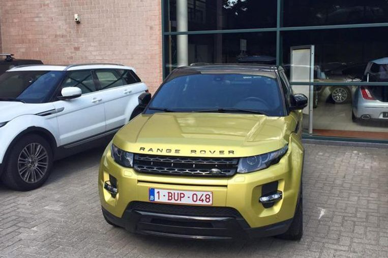 Exclusieve gele range rover in utrecht teruggevonden for Garage land rover villeneuve d ascq