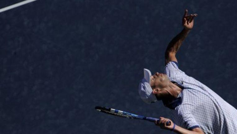 Andy Roddick in actie. ANP Beeld
