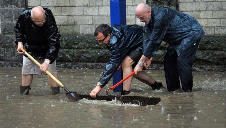 De overvloedige regenval op 14 juli wordt erkend als algemene ramp.