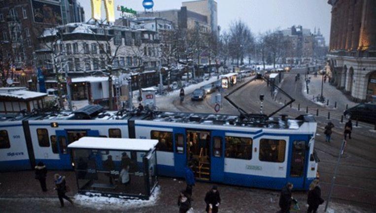 Het Leidseplein. Foto Maarten Brante Beeld