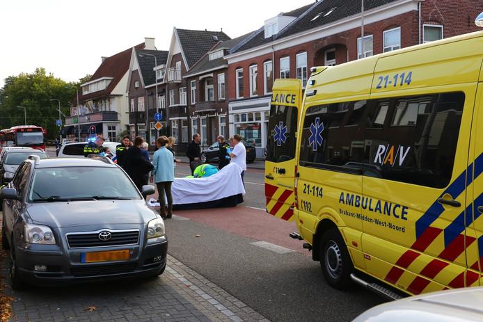 Het ongeluk gebeurde op de Molenstraat.