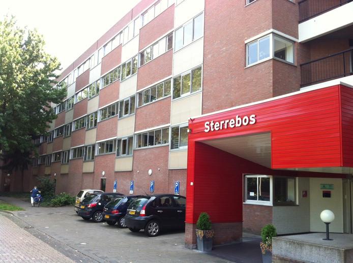 Sterrebos 2, het nieuwbouwgedeelte van het ouderencomplex waar de storing zich concentreert.