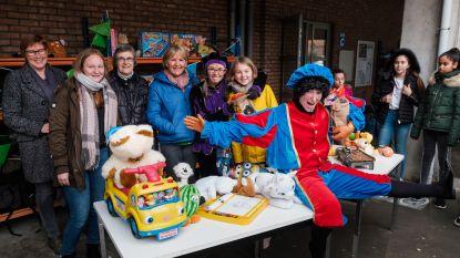 OLVI-leerlingen zamelen volle camionette speelgoed in voor Welzijnsschakels