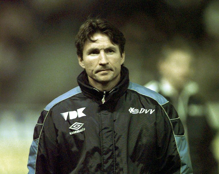 Trond Sollied begin 2000, als coach van AA Gent.