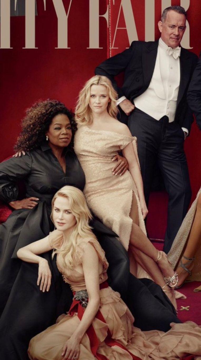 Reese heeft drie benen op de cover van Vanity Fair.