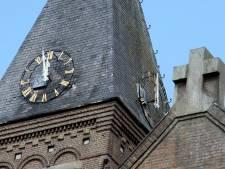 Sint-Willibrorduskerk in Waalre vanuit de lucht