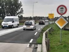 Randweg bij Haps gaat weer dicht voor verkeer