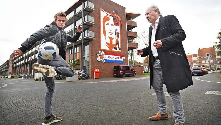 Léon en Hans Bergsma. Beeld Foto Guus Dubbelman