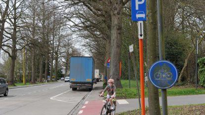Parkeerverbod voor vrachtwagens