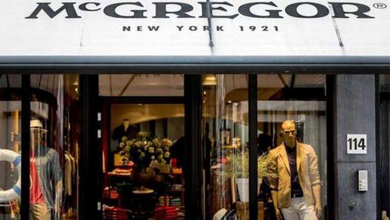Kledingwinkels McGregor en Gaastra worden apart verkocht
