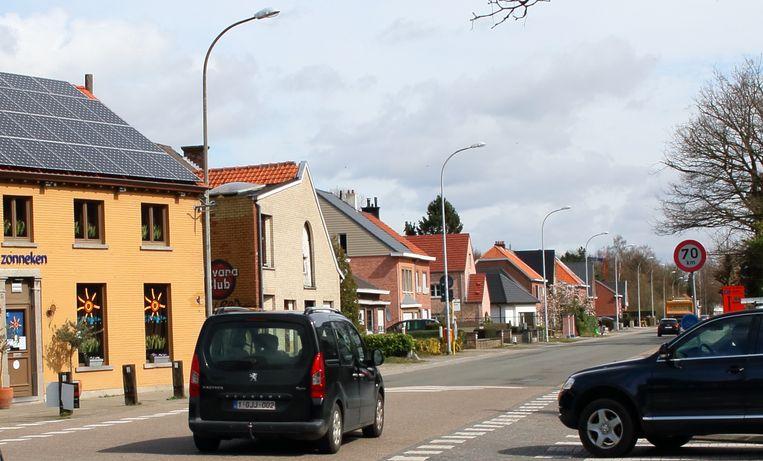 Zonneken in Sint-Niklaas.