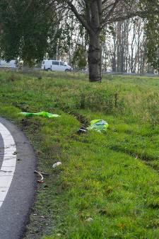 Burgemeester Buijs steekt pechvogel Michel hart onder de riem na ongeluk langs A50