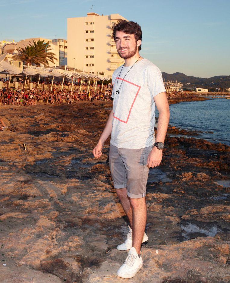 Oliver Heldens op Ibiza Beeld null