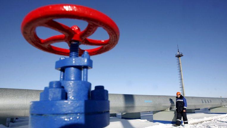 Rusland heeft de Europese Unie woensdag voorgesteld volgende week maandag te overleggen over het veiligstellen van gasleveranties en -doorvoer. Beeld epa