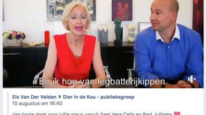 Schepen en burgemeester posten hilarisch filmpje in dierengroep