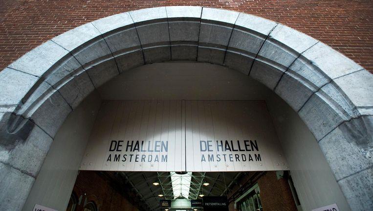 In en om De Hallen is de voorbije jaren veel nieuwe horeca gekomen. Beeld anp
