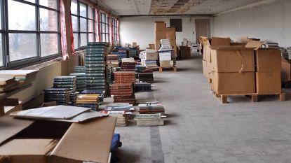 De bibliotheek van het Ministerie van Openbare Werken is gered