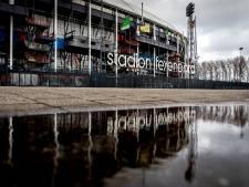 Wedstrijd Feyenoord-Ajax onder de 19 stilgelegd
