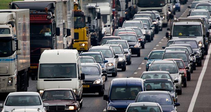 De ANWB verwacht drukte op de snelwegen.
