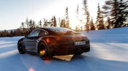 Nieuwe Porsche 911 wereldwijd getest in extreme omstandigheden