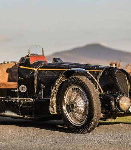 La Bugatti du roi Léopold III adjugée pour un montant astronomique