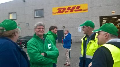 """""""Werknemers zijn onzekerheid beu"""": spontane staking breekt uit bij DHL in Bornem"""