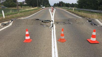 Nu komt ook Diestersteenweg (N10) omhoog door hitte