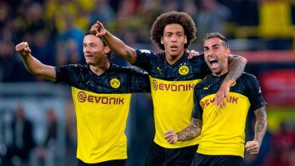 LIVE. Alcácer stelt meteen orde op zaken nadat Dortmund vroege tegengoal slikte