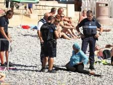 Une femme voilée contrôlée à Nice: les photos qui font débat
