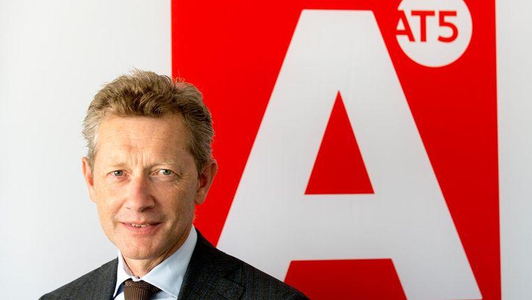 Stichtingsbestuurder Paul van Gessel, tevens directeur van AT5 en NH Media, stuurde de voltallige mediaraad per direct de laan uit Beeld ANP