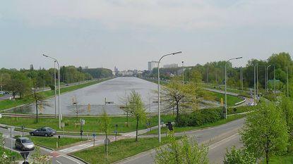 Fiets- en voetgangersbrug over Gentse Watersportbaan in 2018