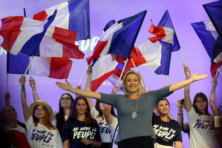 Marine le Pen. Beeld anp