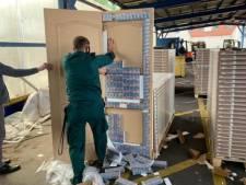 Loslatend deurpaneel maakt einde aan smokkellijn van illegale sigaretten tussen Rusland en Rotterdam