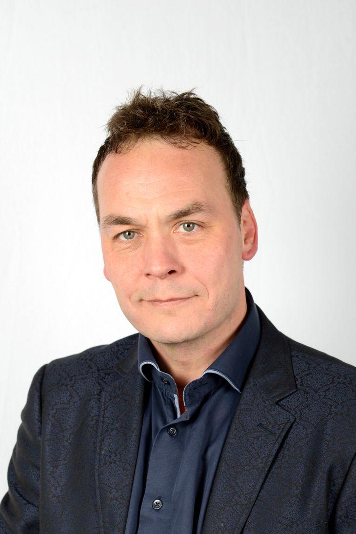 De nieuwe wethouder Frank van Liempdt van Lokaal Liberaal.