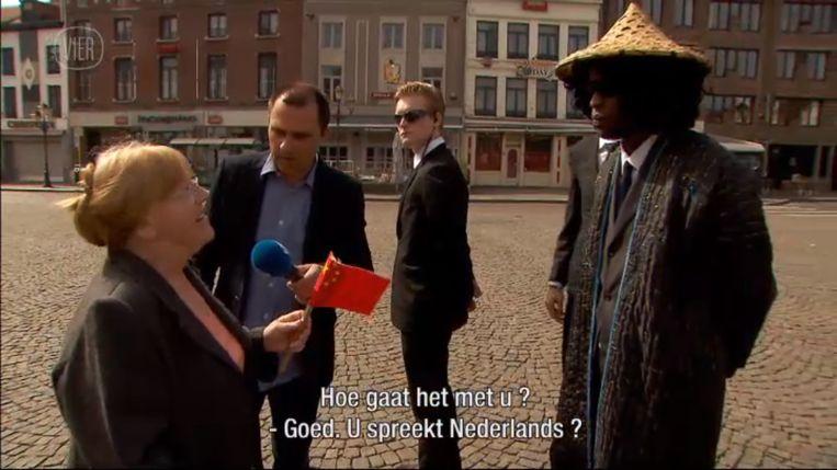 Luk Haekens nam vorig jaar de Tienenaars nog te grazen met een reportage voor De Ideale Wereld, waarin hij zogezegd de Chinese president meebracht.