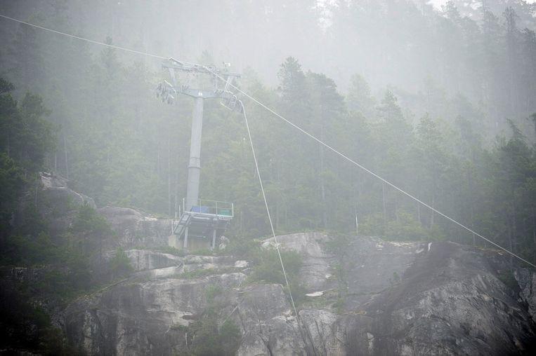 """Le téléphérique """"Sea to Sky"""" de Squamish a été saboté."""