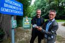 Schepen voor toerisme Rudi Goyvaerts (PRO Boechout&Vremde) en consulent cultuurspreiding Erik Van Der Velden.
